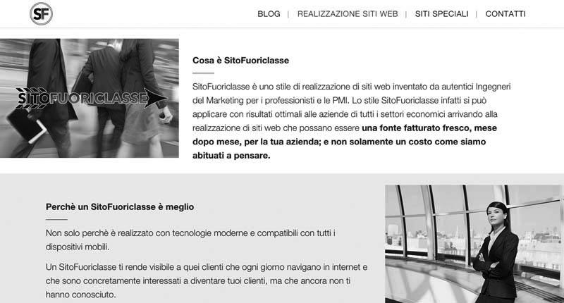 SitoFuoriclasse siti web